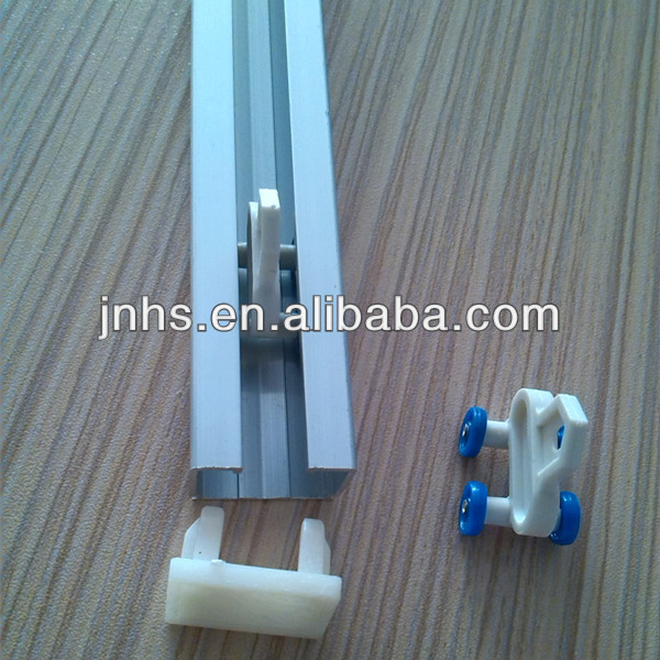 New Design Aluminum Curtain Track Ceiling Mount Rail
