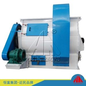 Volumetric single shaft gearbox ready mix paddle type concrete mixer