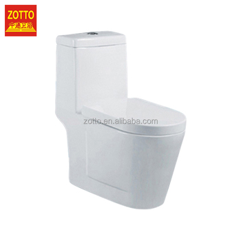 Wholesale Cheap Round S Trap Siphon Wc One Piece Toilet Bowl