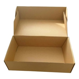 Wholesale accept custom po kraft paper carton box for shipping