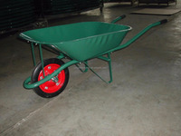 powered easy to assemble wheel barrow wb6204