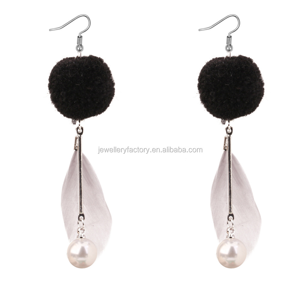 New Variety of Ultra-Modish Feathers Earrings for Fashion Devoted Girls