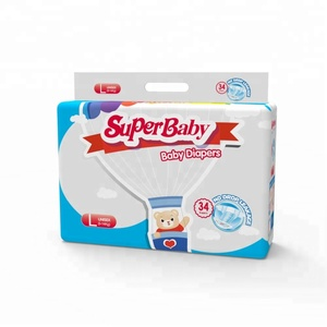 Superbaby brand Girls Giggles Wearing Diapers Free Adult Baby Diaper Sample for supermarket