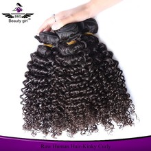 latest virgin human kinky curly hair styles corkscrew weaving ponytail for black women hair extension box wholesale