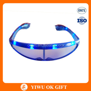 led crazy funky party glasses,kids safety goggles