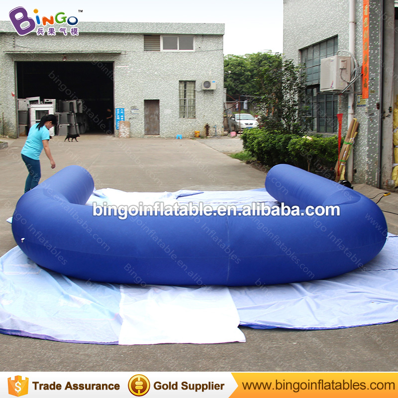 Sport game U inflatable 10 pin Bowling alley for playground