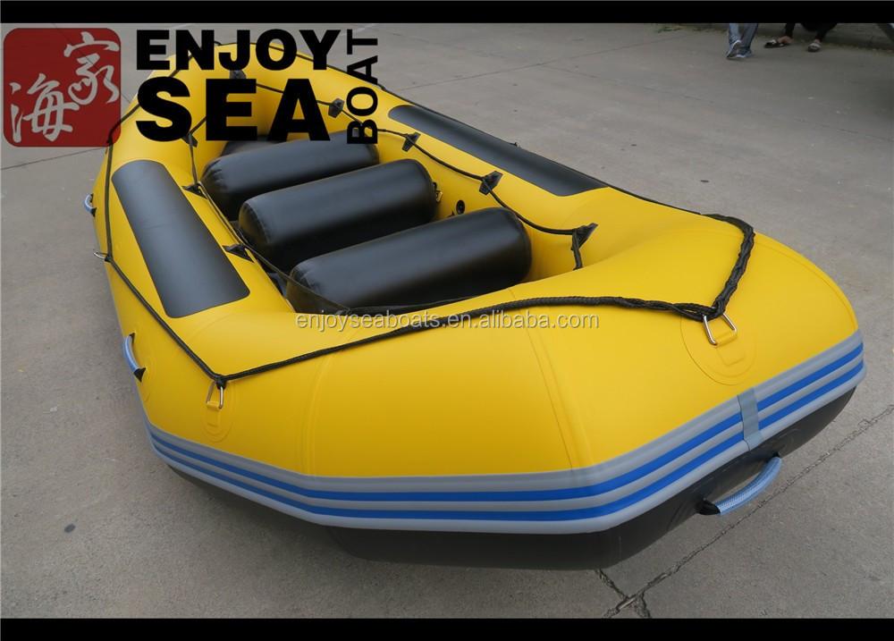 Best price inflatable rafting boat fishing kayak used for Used fishing kayak sale