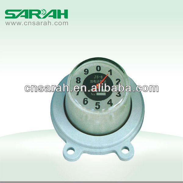 Surge arrester discharge counter