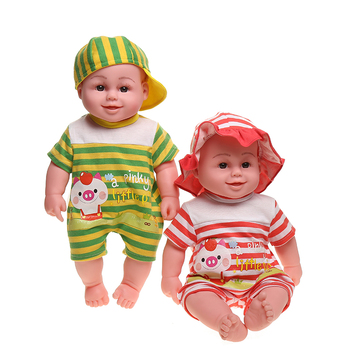 Selling 20 inch crying and laughing dolls Stuffed Plush cute function girls toys silicon black dolls for kids baby doll