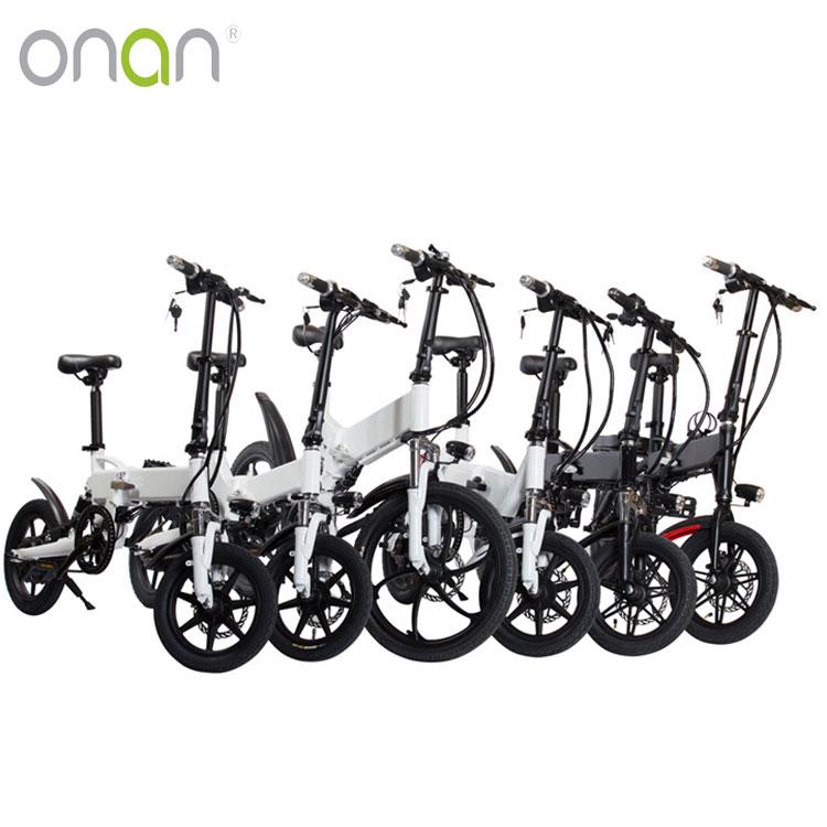 ONAN  CE Cheap Electric Bicycle 250W Cheap Small Folding Electric Bike