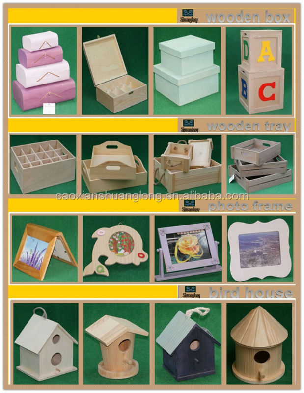 Shuanglong factory supply mini cheap wooden crates wholesale