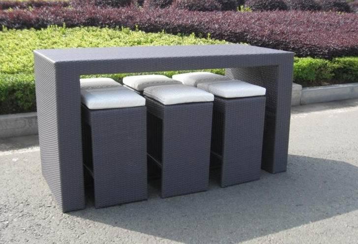 tabouret de bar bar en rotin chaise ext rieur comptoir de bar outils de jardin id de produit. Black Bedroom Furniture Sets. Home Design Ideas
