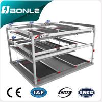 floor sliding car garage parking lift office smart parking system