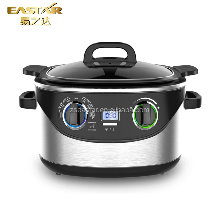8 in 1 function electric 5.6L rice cooker multi cooker