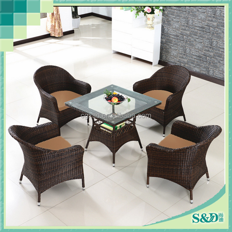 Cheap Synthetic Rattan Patio Furniture Factory Direct
