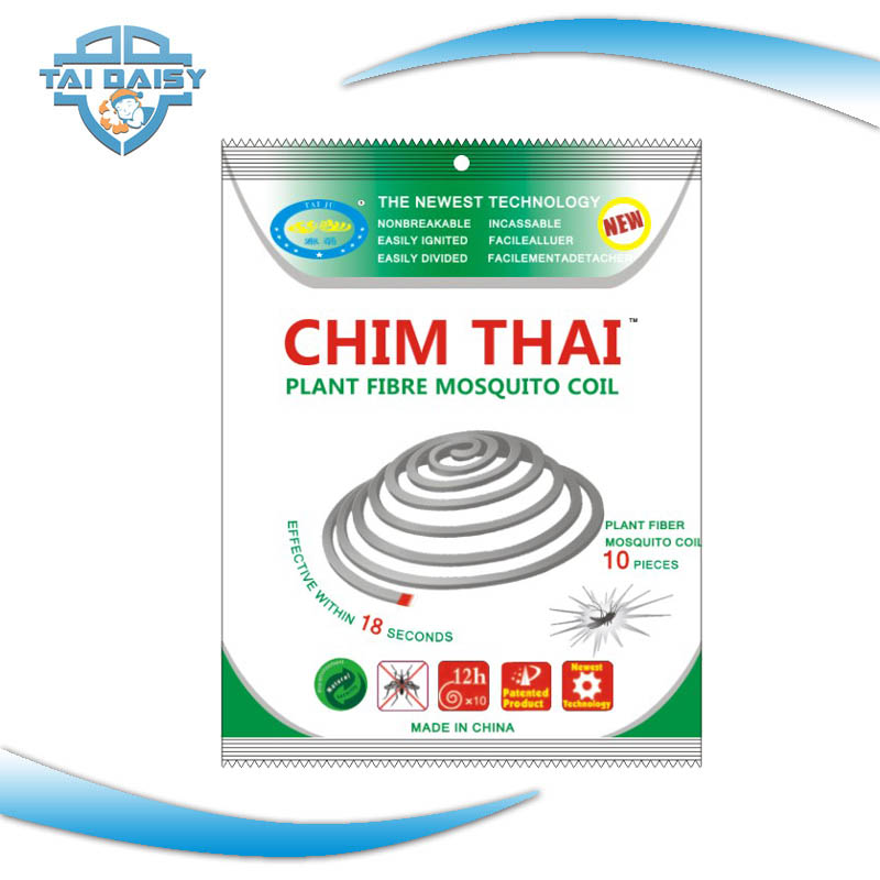 Unbreakable mosquito coil supplier factory paper mosquito coil plant fiber