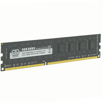 AOALOO RAM DIMM PC3-12800 DDR3 4GB 1600MHz For Desktop