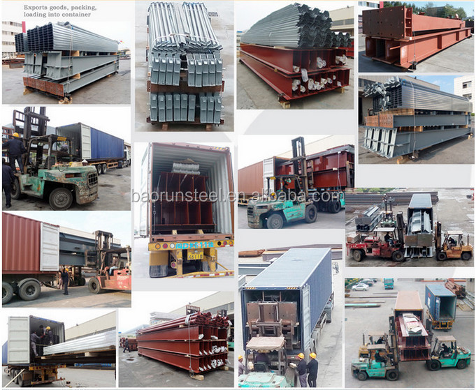 Prefab light steel structure chicken farm building with full equipment