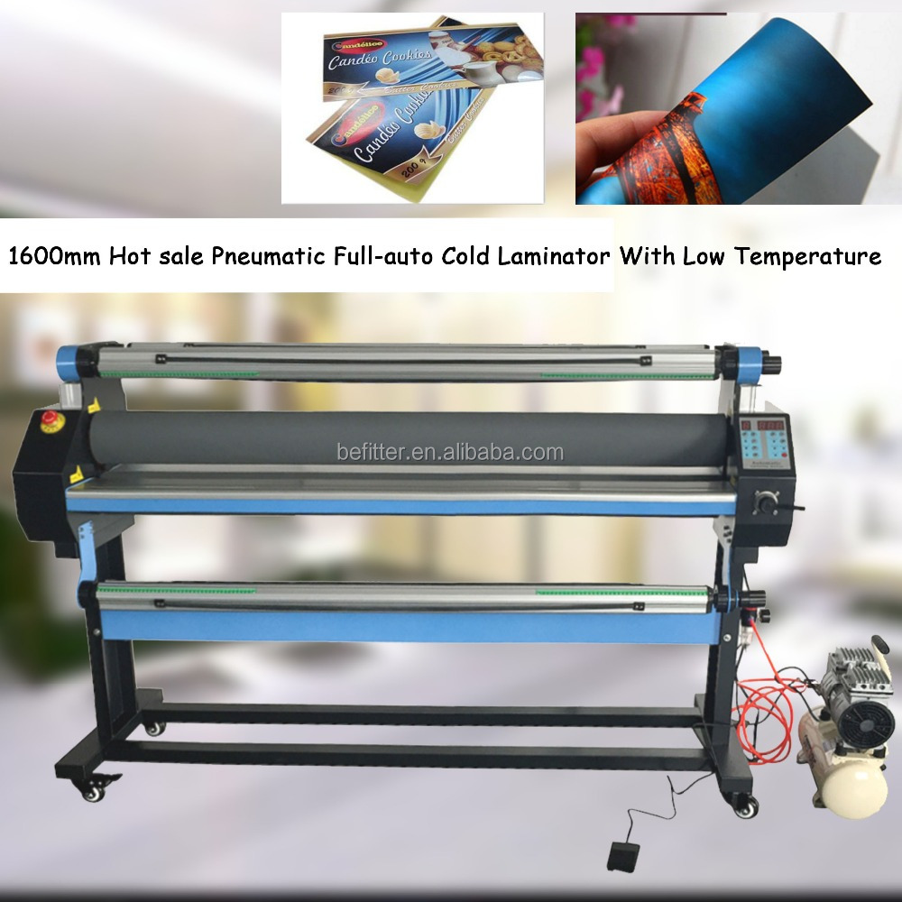 1600mm Hot sale Pneumatic Full-auto Cold Laminator With Low Temperature