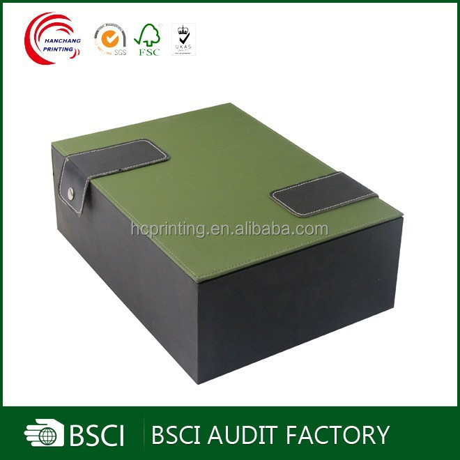 Updated Top design 2 bottle wine gift box manufacturer in shanghai