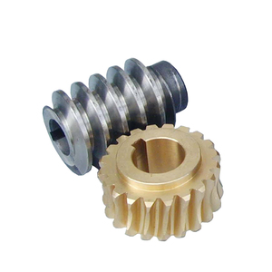 Manufacture High Quality Steering Zero Backlash Transmission Worm Gear Price For Spanish Machine