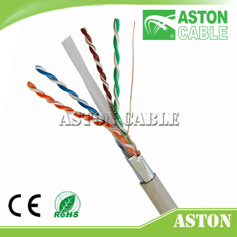 305m CAT6a Cat6 High Speed UTP Cable Boxed LAN Networking 16 years cable factory Aston Martin better than Luhua & fobelec