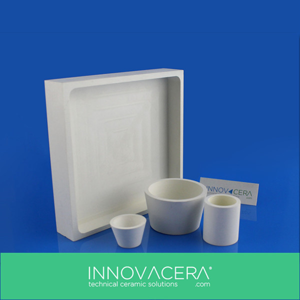 Boron nitride Ceramic BN Crucibles Liners For Electron Beam Evaporation Sources/INNOVACERA