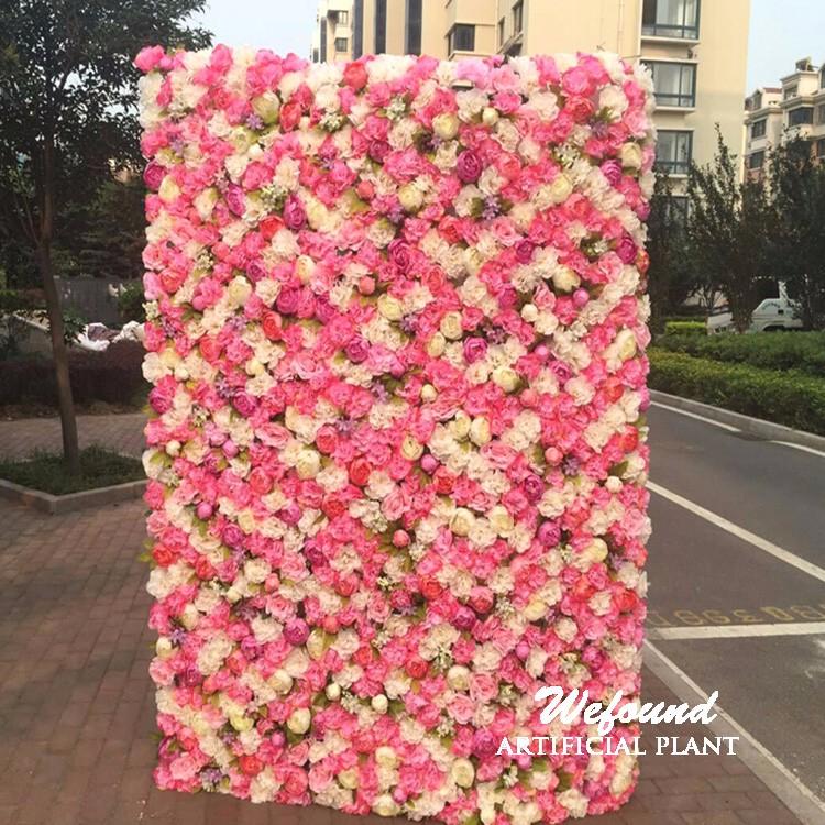 Y0225 Wefound Flowers Backdrop Silk Flower Wall Popular