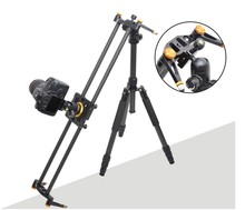 60cm carbon slider installed on tripod for professional photography