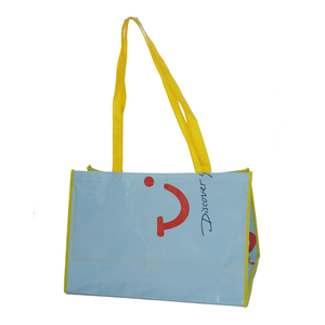 Big Laminated PP Woven Shopping Bag with Handle