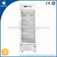 BT-5V236 CE ISO Medical 2-8 degree upright 2 to 8 degree medical refrigerator