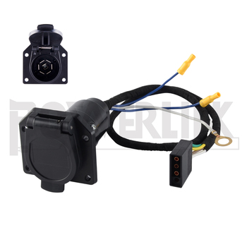 S90033 4 Flat to 7 Blade Wire harness