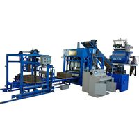 construction building automatic brick making machine price QT4-15 cement brick making machine price in india