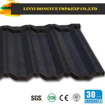 Stone Coated Metal Roofing Sheet Manufacturer/synthetic Resin Roof  Tile/made In China Donyue Factory - Buy Color Coated Roofing Sheet,Metal  Galvalume