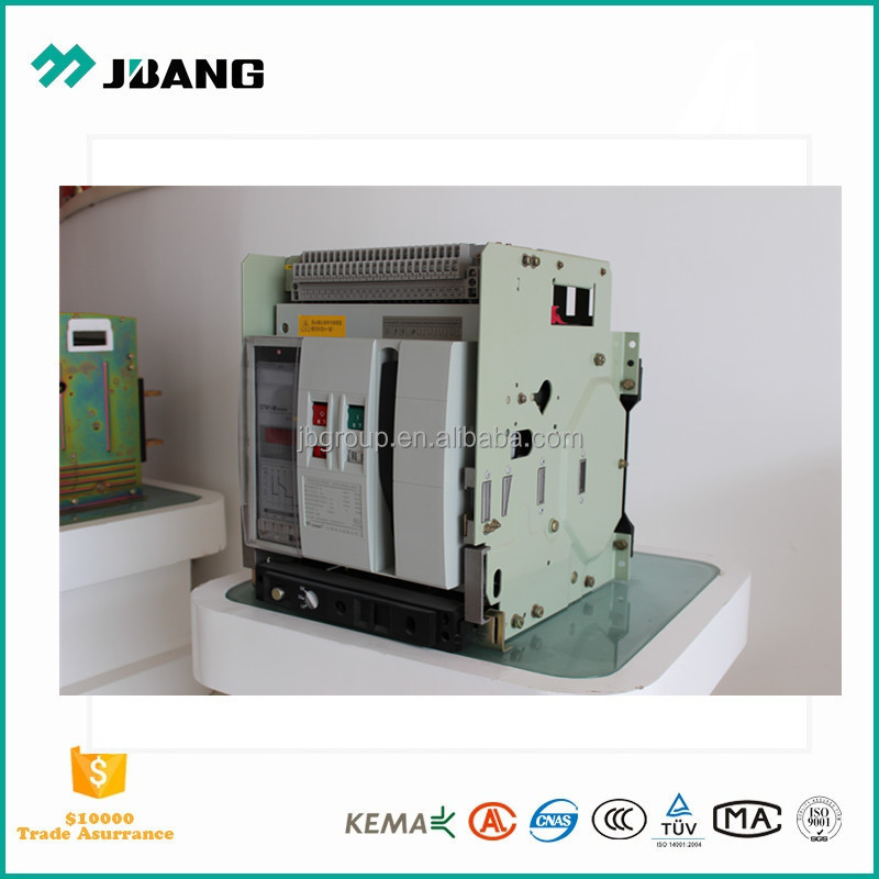New generation air circuit breaker ACB 1200A-6000A 3P/4P with high breaking capacity