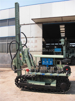 new crawler rotating construction 30m drill machine with overseas service provided