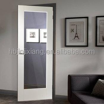 Single White Primed Swing Panel Door With Glass Buy Panel Door