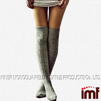 f41c429eea6 Women s Fancy Merino Wool Knee High Socks