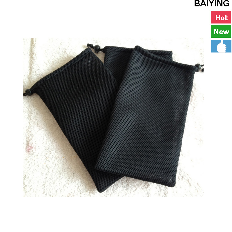 black non woven jewelry bag sling pouch pag dongguan manufacture