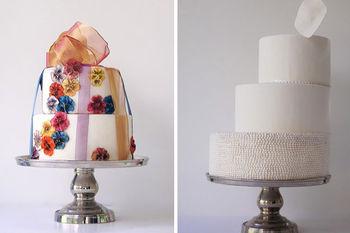 Cake Besi Berdiri Untuk Dekorasi Pernikahan Logam Kue Pengantin
