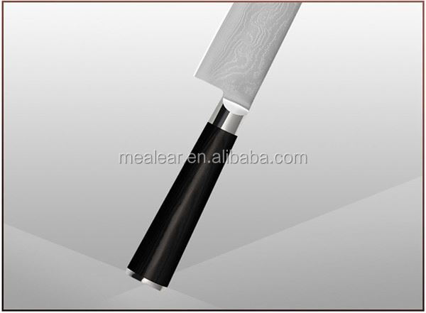 "largest distributor 6"" stainless steel sharp kitchen knife with pom handle"