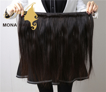 100 Real Human Hair Virgin Human Hair No Tangle No Shed Human Hair