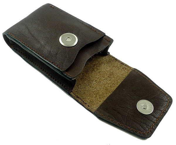Hot selling handmade men small high-end cow leather coin purse