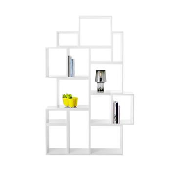 Wit Boekenplank,Kleine Boekenplank,Smalle Boekenkast - Buy Wit ...