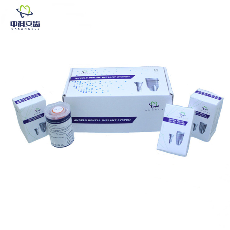 Generic dental Implants kit price of Angels Dental Implant System with Titanium GR5 Bone level Implant