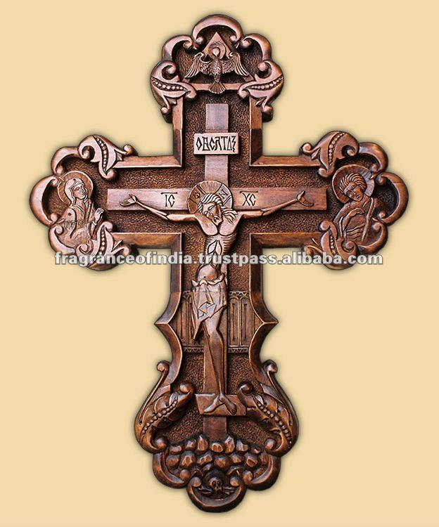 Orthodox Decorated Wooden Cross - Buy Orthodox Wooden Cross ...