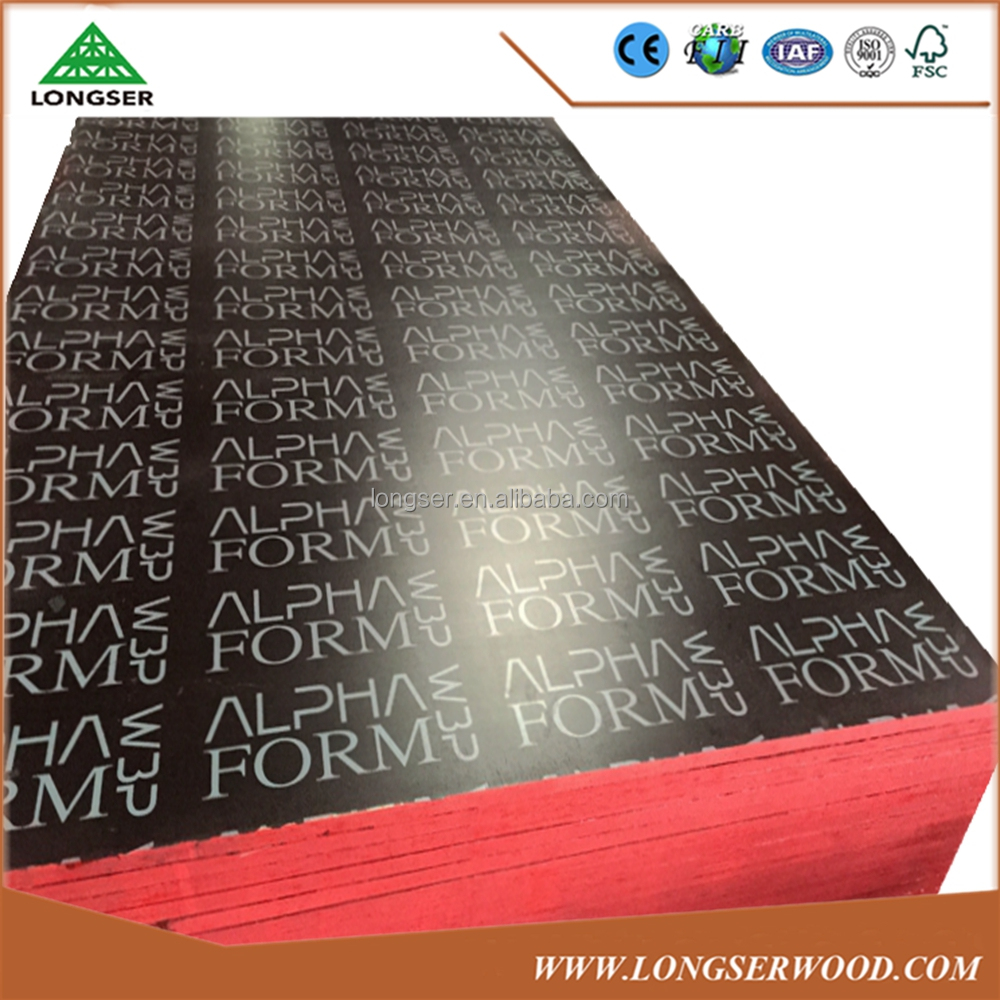 Low price brown/black film faced plywood manufacturer 18mm