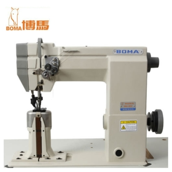 Overlock Machine High Quality Heavy Duty Post Bed Leather Industrial Best Industrial Sewing Machine For Leather