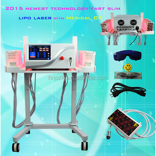 2015 new arrival 30mins devil figure back!!!! aesthetic laser body shape i-lipo laser machine