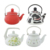 High quality enamel kettle and teapot with customized decal